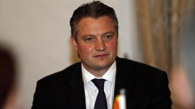 Konrad Mizzi apologised last May, in the course of a debate on a motion of no confidence in him. Photo: Darrin Zammit Lupi