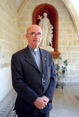 Maltese Bishop Silvestru Magro. Photo: Matthew Mirabelli