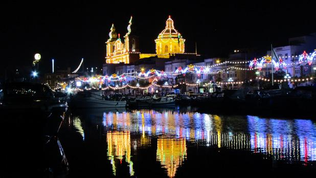 Reflections of Msida Church. Photo: Joe Morana