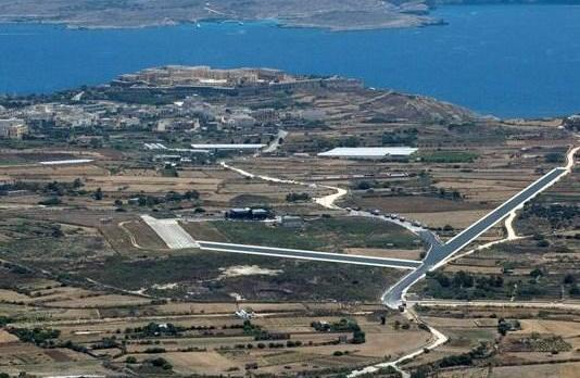 The widening of a road for use an an airstrip in Gozo has been proposed.