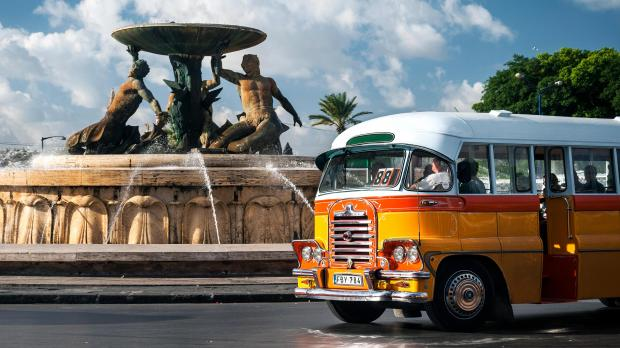 Malta's iconic buses were retired in 2011.