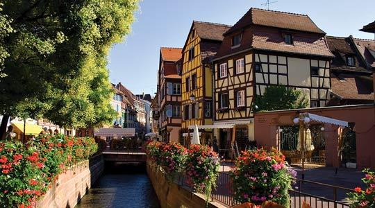Alsace, where the German battalion was stationed.