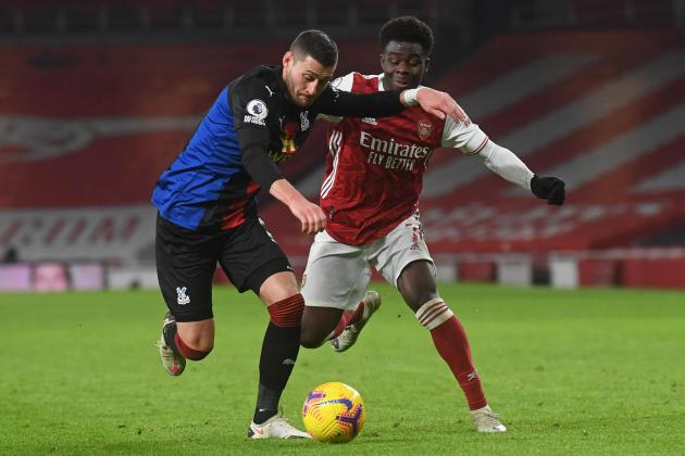 Arsenal frustrated in Palace stalemate