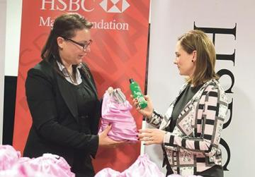 hsbc employees answer appeal with 400 little bags of happiness