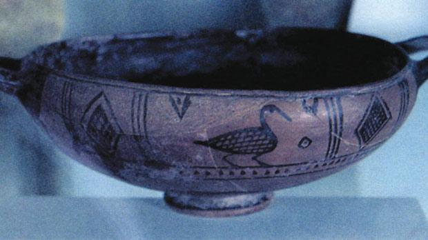 A Greek bind-bowl found at Għajn Qajjet in Rabat.