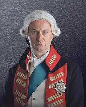 Mark Gatiss stars in the title role in The Madness of George III.