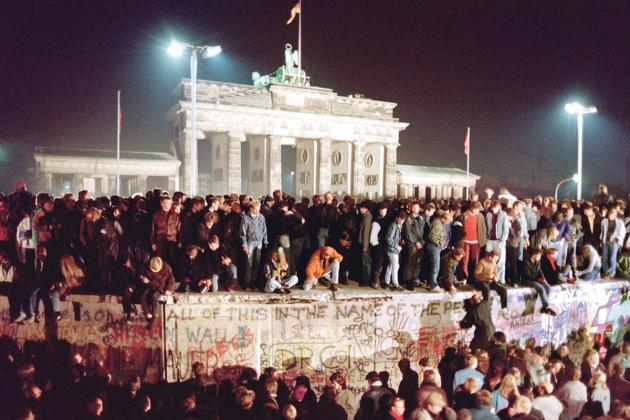 'How we watched the Berlin Wall go down'
