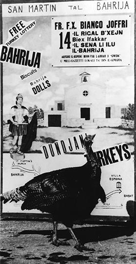 An old promotional poster of the fair.