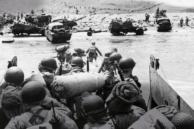 Watch: Images of the Normandy landings (ARTE)