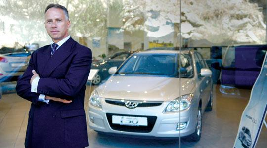"Hyundai Motor Europe vice-president Allan Rushforth: ""Only three years ago, Hyundai was number one in Malta."""