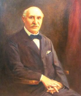 Portrait of Alfonso Maria Galea, who translated into Italian a leading work in the evolution controversy. Courtesy of the Bank of Valletta Museum and Noel Micallef