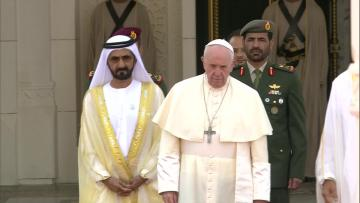 Watch: Pope calls for end to wars in Middle East in Gulf trip