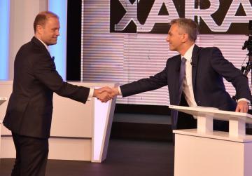 Accusations, denials and armchair psychology in terse Xarabank debate