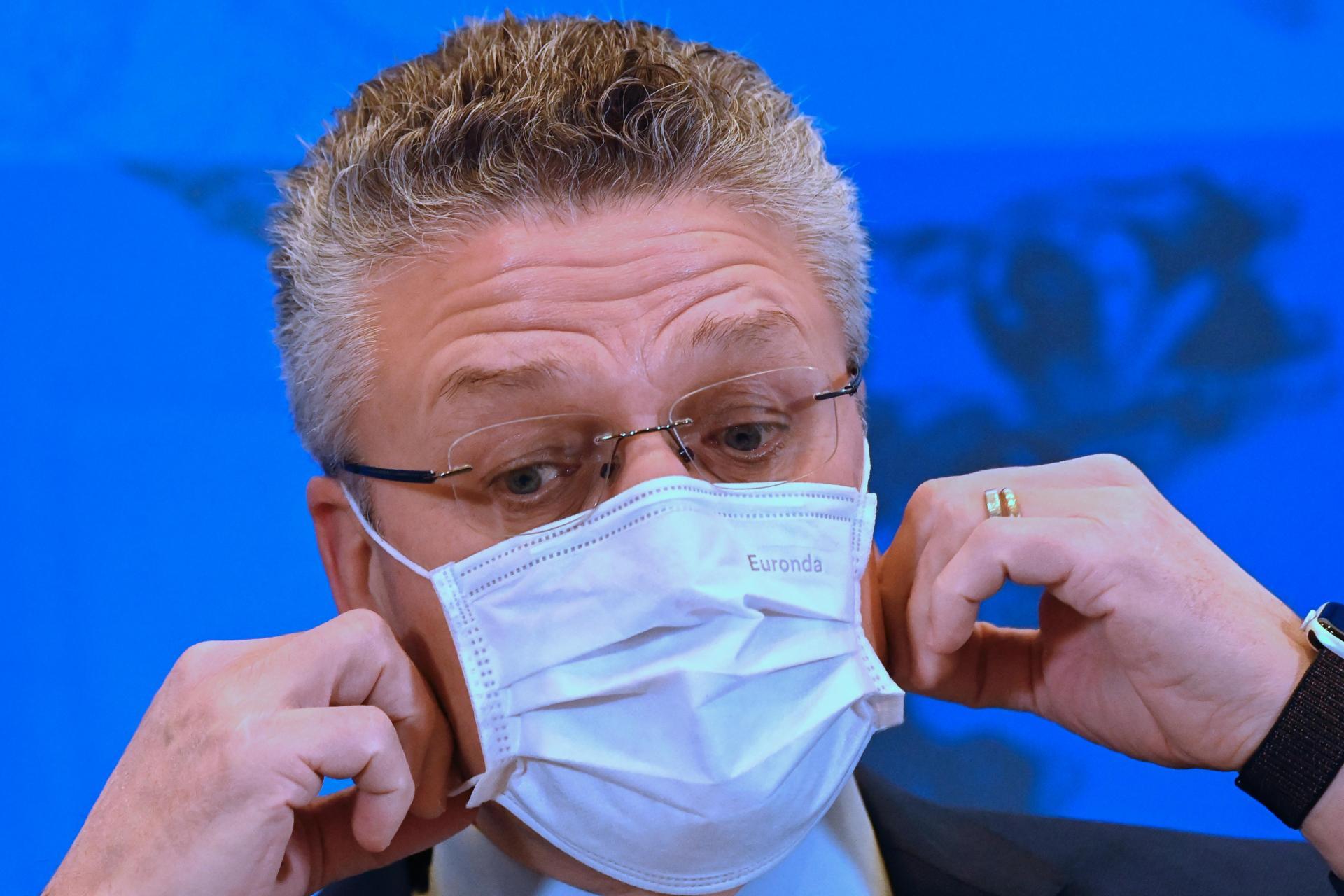 Lothar Wieler, the head of Germany's disease control agency Robert-Koch-Institute (RKI). Photo: AFP