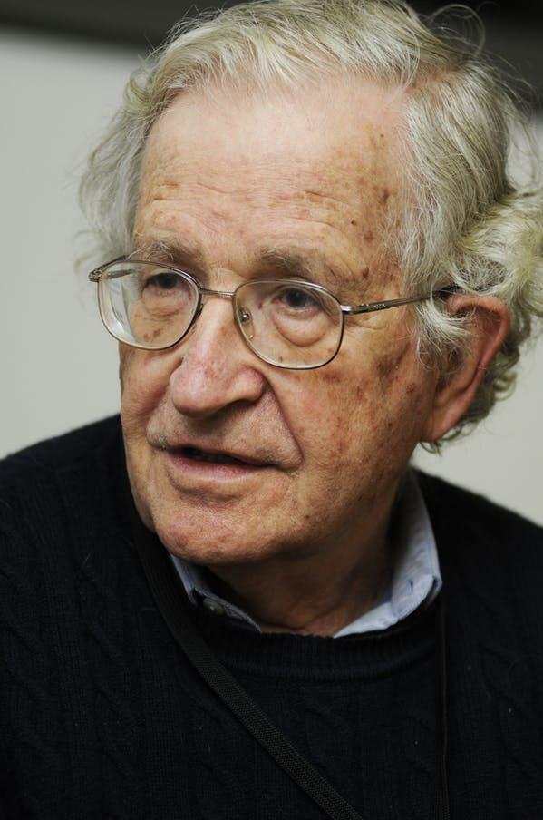 Noam Chomsky. Photo: Shutterstock