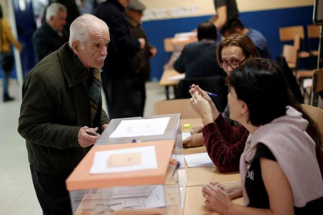 Spain votes in repeat general election amid Catalonia tensions
