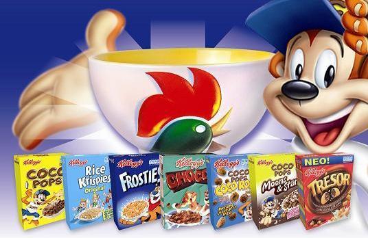 Kellogg's to reduce sugar in three popular cereals