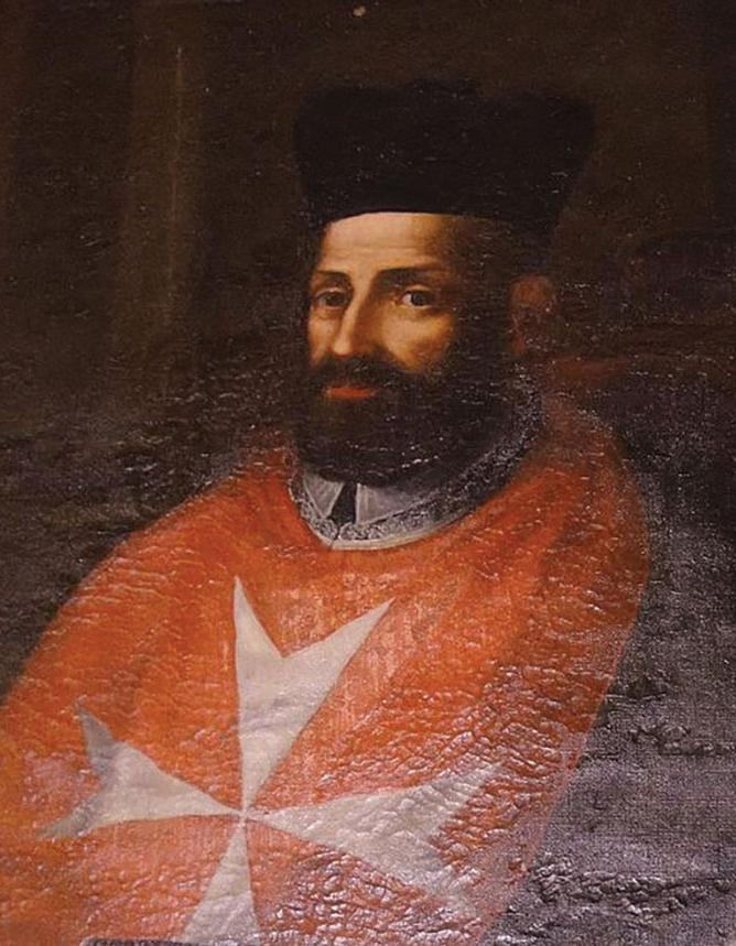 Bishop Mgr Domenico Cubelles, Malta's first inquisitor, who held office from 1561 until his death in 1566.