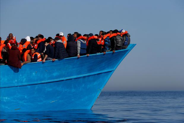 Italy mulls using Navy to fight human traffickers