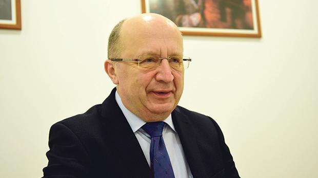 """Andrius Kubilius: """"The Council of Europe had no proper legal or institutional framework."""" Photo: Mark Zammit Cordina"""