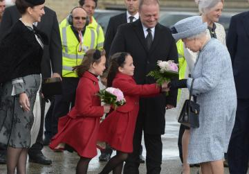 Watch - Queen arrives for state visit, CHOGM