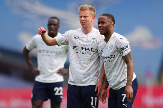 Man. City on brink of title glory after beating Palace