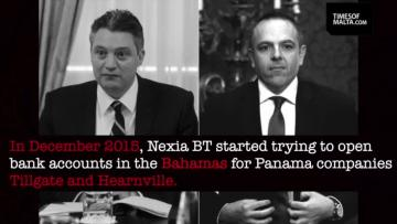 Watch: $1.6m wired to Mizzi and Schembri's Panama 'target client'