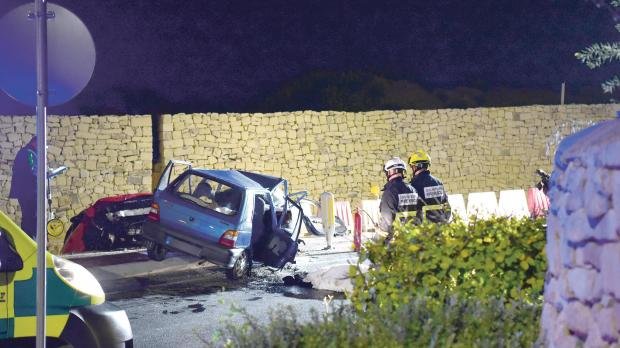 Mġarr fatal accident probe points at excessive speed
