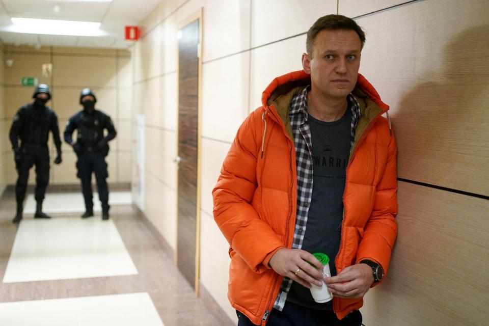 Alexei Navalny.  Foto: Dimitar Dilkoff / AFP.