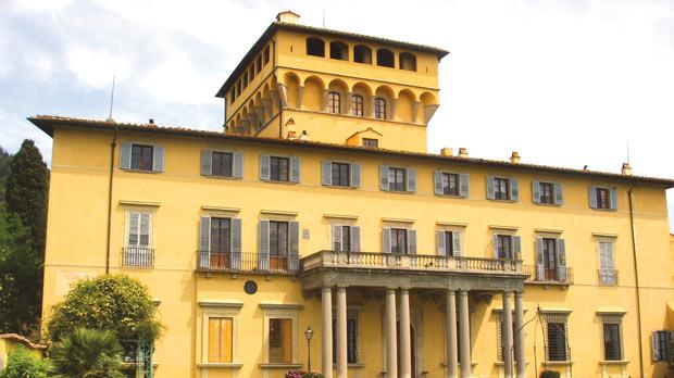 The property in Maiano, close to Florence, where Laura Battiferra lived with her husband Bartolomeo Ammannati.