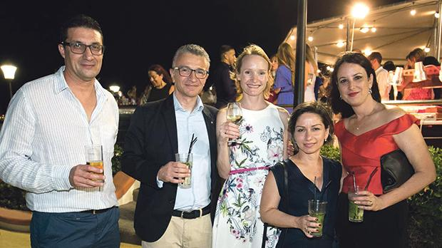 Jesmond Apap, Nikolaos Fertakis, Emma Nuttall, Irina Seylanyan and Mandy Falzon.
