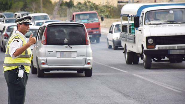 The points system in Malta makes no distinction between drivers making use of private cars and those whose livelihood depends on driving. Photo: Mark Zammit Cordina