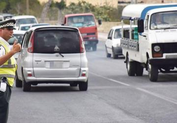 75 drivers lose licence under points system