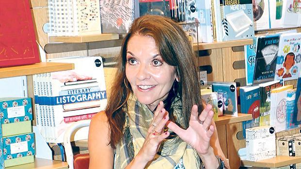 Playwright Lizzie Eldridge.