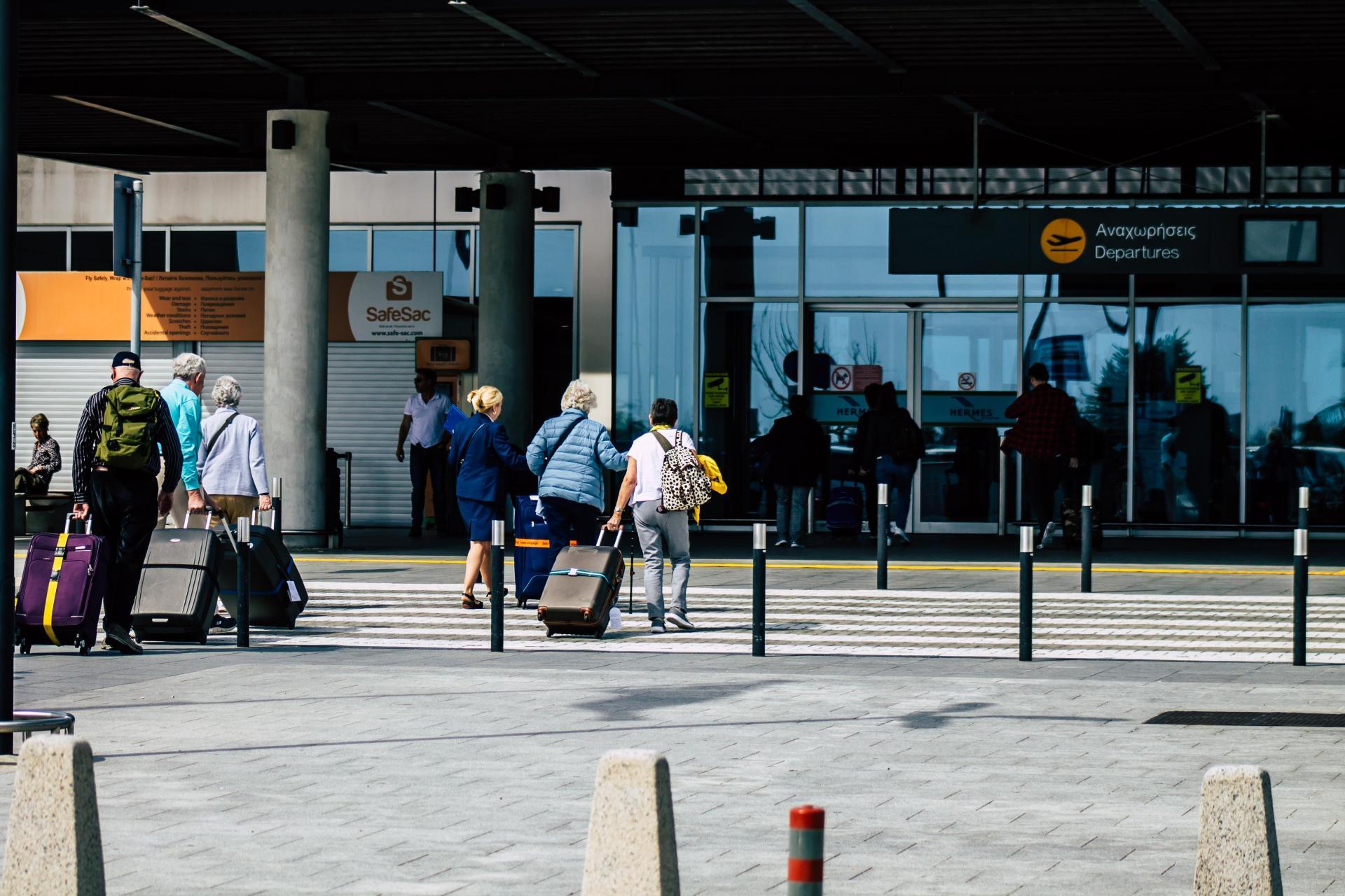 Paphos airport. Photo: Shutterstock