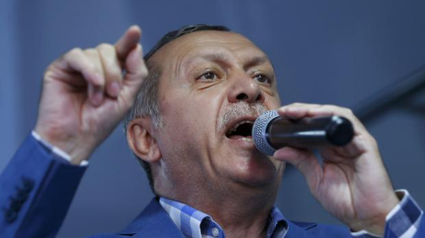 Turkish President Erdogan said the coup was proof of the need to 'clean up' the military. Photo: Reuters