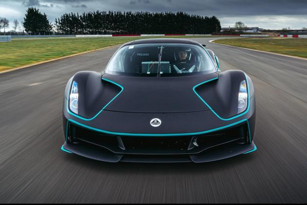 Lotus Evija honoured in BBC Top Gear Electric Awards