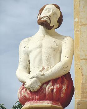 An All Souls sculpture.