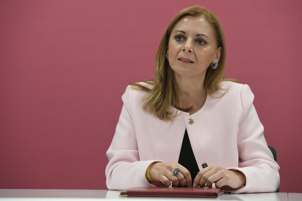 Education Minister Justyne Caruana hospitalised