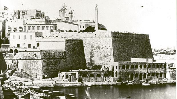 Marsamxett in the 1850s