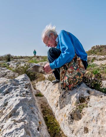 David Trump was in love with Malta's archaeology. Photo: Daniel Cilia