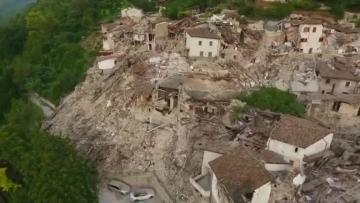 Watch: Italy earthquake death toll shoots up to 247; town flattened