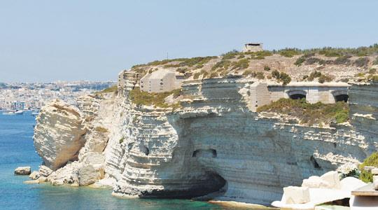 Fort Delimara is in danger of collapse as the cliffs beneath it are eroding at a fast rate. Photo:Chris Sant Fournier.