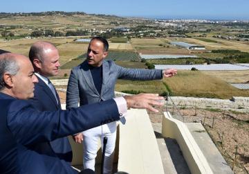 Ġnien l-Għarusa tal-Mosta regenerated
