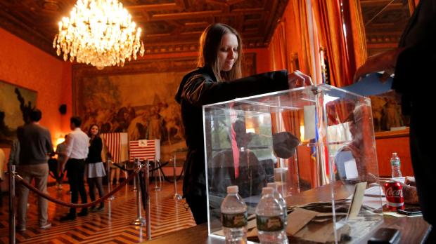 France votes in high-stakes election under tight security