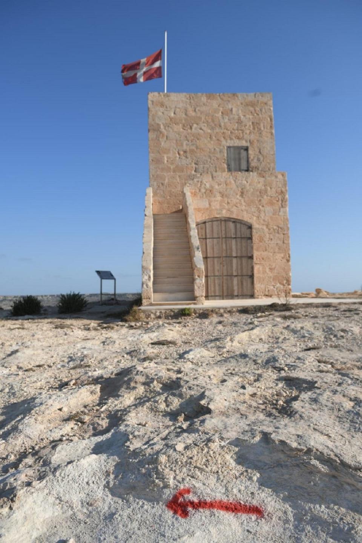 Għajn Żnuber Tower, in the limits of Mellieħa. Photo: Matthew Mirabelli