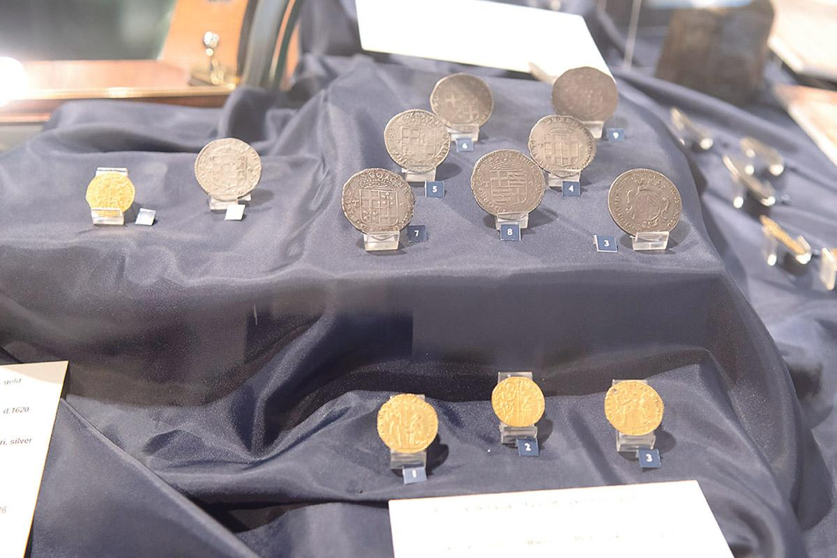 Coins of the Order of St John – Rhodes, Malta and Rome – form part of an exhibition that will go on display again during this year's Notte Bianca.