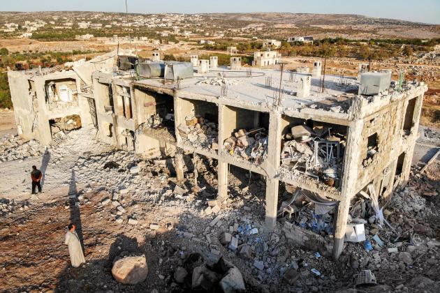 US demands Russia, Syria stop air strikes killing civilians