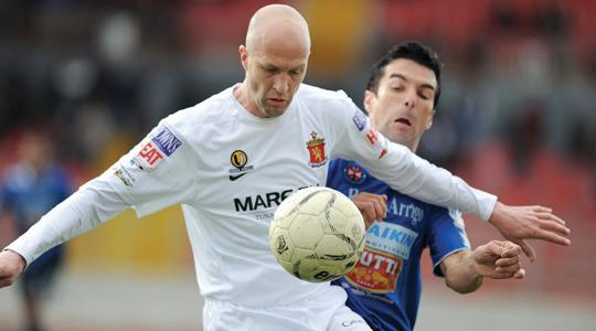 Jordi Cruyff... enjoyed his time with Valletta FC this season.