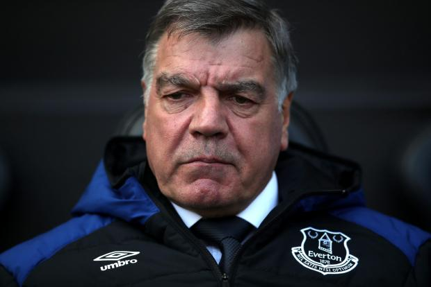 Sam Allardyce is no longer the manager of Everton.